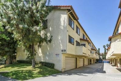 419 N 3rd Street UNIT E, Alhambra, CA 91801 - MLS#: PF19165058