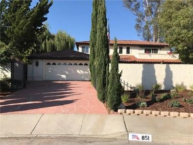 851 Briarcliff Drive, Santa Maria, CA 93455 - MLS#: PI17187893