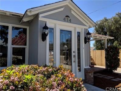 414 Orchard Street, Arroyo Grande, CA 93420 - MLS#: PI18091267