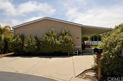 765 Mesa View Drive UNIT 241, Arroyo Grande, CA 93420 - MLS#: PI18120048