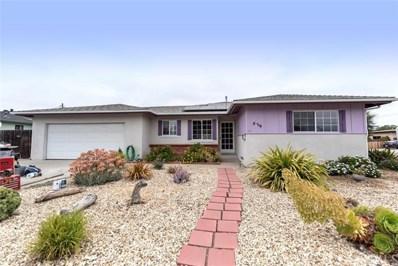 839 Diamond Circle, Arroyo Grande, CA 93420 - MLS#: PI18155205