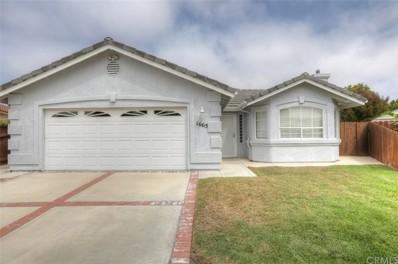 1665 Baden Avenue, Grover Beach, CA 93433 - MLS#: PI18217035