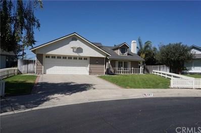 597 Billie Court, Santa Maria, CA 93455 - MLS#: PI18224004