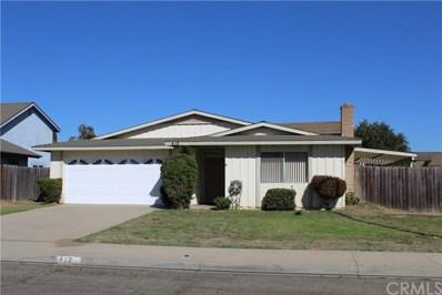 412 Chaparral Street, Santa Maria, CA 93454 - MLS#: PI18230405
