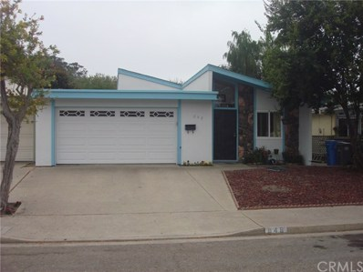 848 Mesa Drive, Arroyo Grande, CA 93420 - MLS#: PI18232114