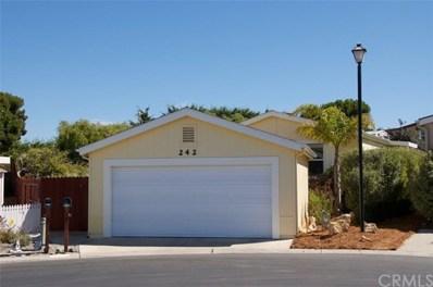 765 Mesa View Drive UNIT 242, Arroyo Grande, CA 93420 - MLS#: PI18241807