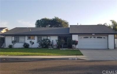 1640 Chadwell Drive, Santa Maria, CA 93454 - MLS#: PI18258460