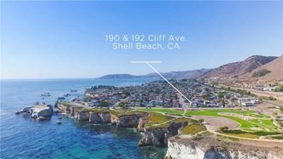 190 Cliff Avenue, Pismo Beach, CA 93449 - MLS#: PI18266608
