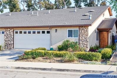 542 Bakeman Lane, Arroyo Grande, CA 93420 - MLS#: PI19087524