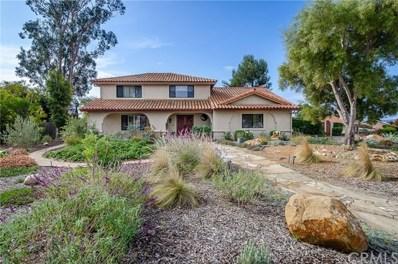 4399 Countrywood Drive, Santa Maria, CA 93455 - MLS#: PI19270044