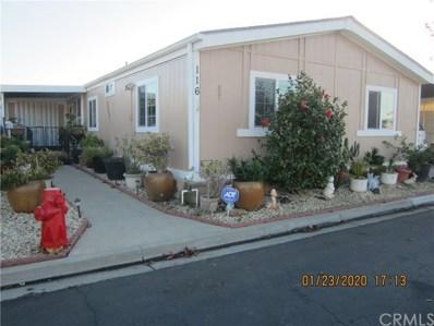 519 W Taylor Street UNIT 116, Santa Maria, CA 93458 - MLS#: PI20016242
