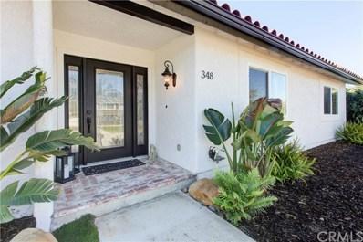 348 Clubhouse Drive, Santa Maria, CA 93455 - MLS#: PI20060516