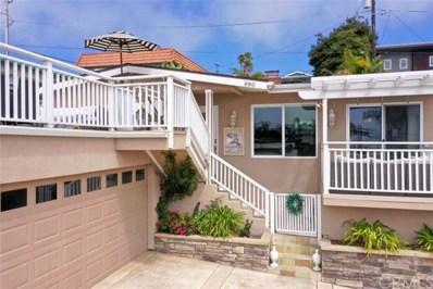 880 Wadsworth Avenue, Pismo Beach, CA 93449 - MLS#: PI20178858