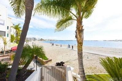 1311 La Palma UNIT 1, San Diego, CA 92109 - MLS#: PTP2000587