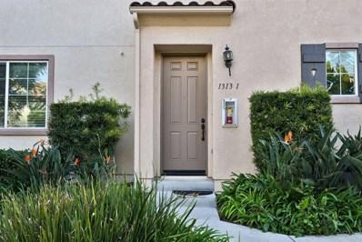 1313 Mother Lode Way UNIT 1, Chula Vista, CA 91913 - MLS#: PTP2101024