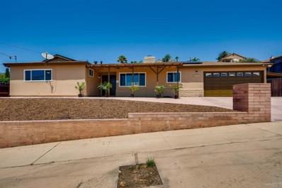 1544 Lily Ave, El Cajon, CA 92021 - MLS#: PTP2105314