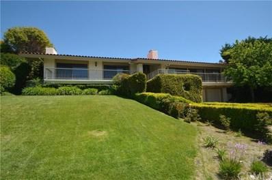 1460 Via Coronel, Palos Verdes Estates, CA 90274 - MLS#: PV17103091