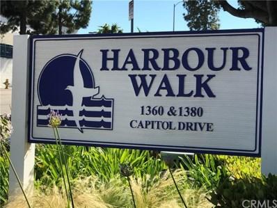 1380 W Capitol Drive UNIT 116, San Pedro, CA 90732 - MLS#: PV17178854