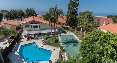 30316 Camino Porvenir, Rancho Palos Verdes, CA 90274 - MLS#: PV17247439