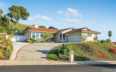 32254 Sea Raven Drive, Rancho Palos Verdes, CA 90275 - MLS#: PV18033595