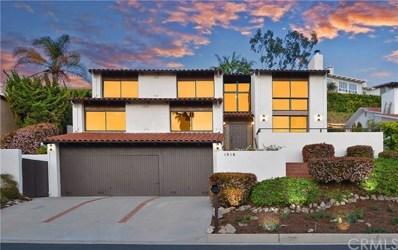 1016 Via Romero, Palos Verdes Estates, CA 90274 - MLS#: PV18070219