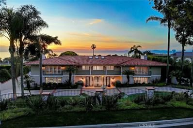 1505 Via Fernandez, Palos Verdes Estates, CA 90274 - MLS#: PV18085592