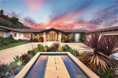 3 Appaloosa Lane, Rolling Hills, CA 90274 - MLS#: PV18087257