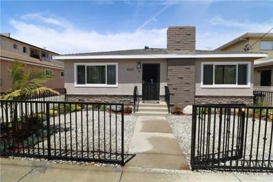 4367 W 136th Street UNIT C, Hawthorne, CA 90250 - MLS#: PV18106995
