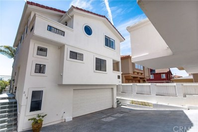 213 N Lucia Avenue UNIT B, Redondo Beach, CA 90277 - MLS#: PV18107428