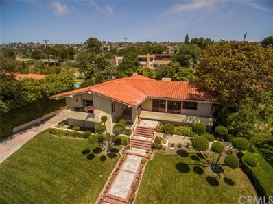 1448 Via Castilla, Palos Verdes Estates, CA 90274 - MLS#: PV18119268