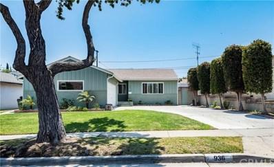 936 Sorock Drive, Torrance, CA 90502 - MLS#: PV18137173