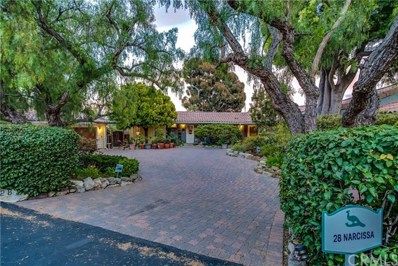 28 Narcissa Drive, Rancho Palos Verdes, CA 90275 - MLS#: PV18144124