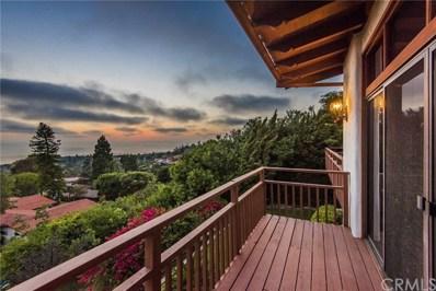 1349 Via Zumaya, Palos Verdes Estates, CA 90274 - MLS#: PV18177257