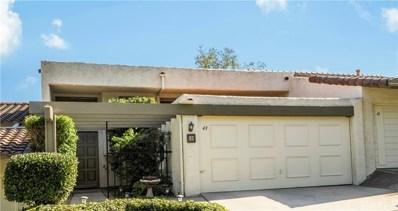 43 Cottonwood Circle, Rolling Hills Estates, CA 90274 - MLS#: PV18261696