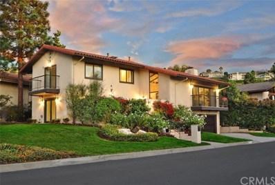1800 Via Estudillo, Palos Verdes Estates, CA 90274 - MLS#: PV18276895