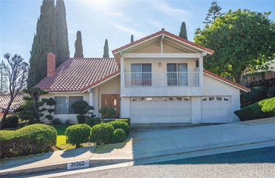 26562 Academy Drive, Palos Verdes Peninsula, CA 90274 - MLS#: PV19016380