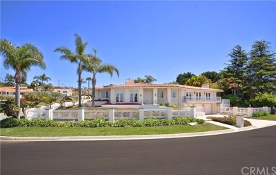 1600 Via Barcelona, Palos Verdes Estates, CA 90274 - MLS#: PV19096682