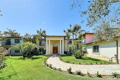 1703 Paseo La Cresta, Palos Verdes Estates, CA 90274 - MLS#: PV19098211