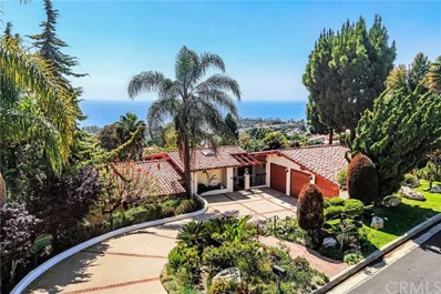 1349 Via Zumaya, Palos Verdes Estates, CA 90274 - MLS#: PV19129886