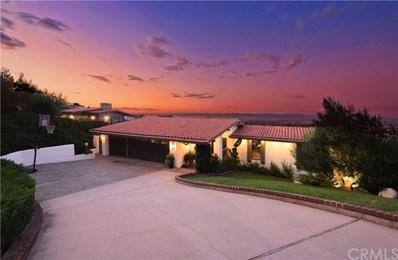 6209 Via Subida, Rancho Palos Verdes, CA 90275 - MLS#: PV19211642