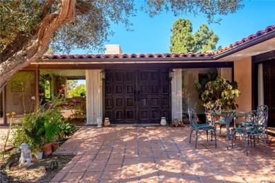 2401 Via Rafael, Palos Verdes Estates, CA 90274 - #: PV19219225
