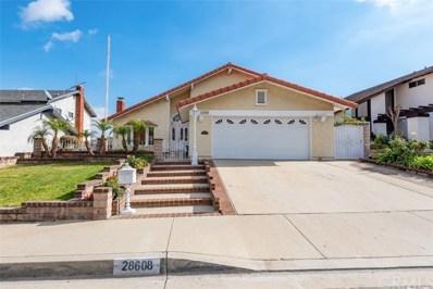 28608 Mount Sawtooth Drive, Rancho Palos Verdes, CA 90275 - MLS#: PV20011991