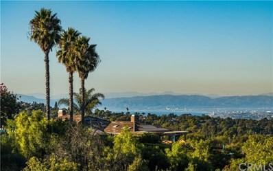 8 S Middleridge Lane, Rolling Hills, CA 90274 - MLS#: PV20012648