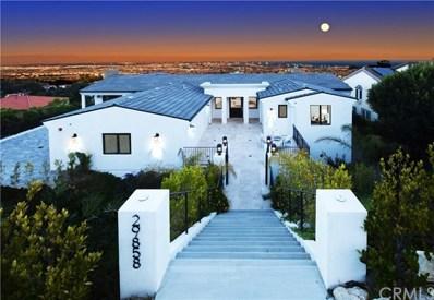 29858 Knoll View Drive, Rancho Palos Verdes, CA 90275 - MLS#: PV20028789