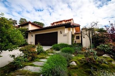 6624 Madeline Cove Drive, Rancho Palos Verdes, CA 90275 - MLS#: PV20058666