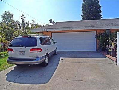 2256 W Coronet Avenue, Anaheim, CA 92801 - MLS#: PW17051804