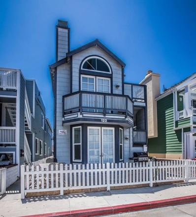 122 24th Street, Newport Beach, CA 92663 - MLS#: PW17175641
