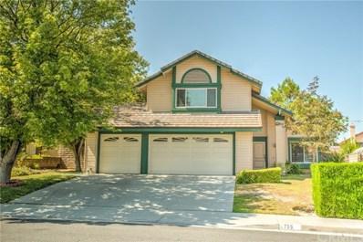 735 Packsaddle Lane, Walnut, CA 91789 - MLS#: PW17203486