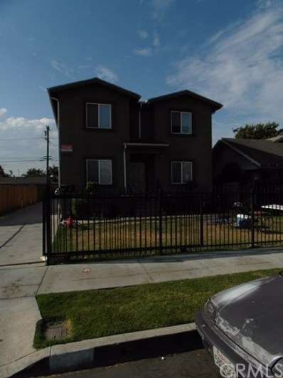 1100 W 62nd Street, Los Angeles, CA 90044 - MLS#: PW17205164