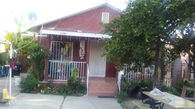 1438 E 56th Street, Los Angeles, CA 90011 - MLS#: PW17212814